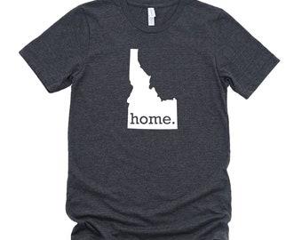 Homeland Tees Idaho Home State T-Shirt - Unisex
