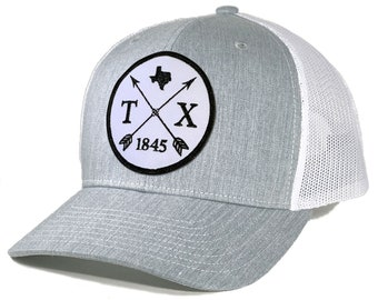 Homeland Tees Texas Arrow Patch Trucker Hat
