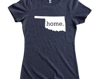Homeland Tees Oklahoma Home State Women's T-Shirt