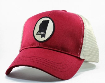 Homeland Tees Mississippi Home State Trucker Hat