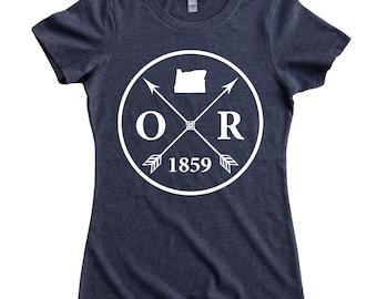 Homeland Tees Oregon Arrow Women's T-Shirt