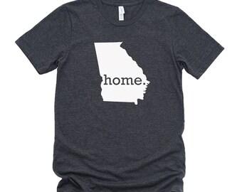Homeland Tees Georgia Home State T-Shirt - Unisex