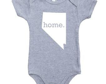 Homeland Tees Nevada Home Unisex Baby Bodysuit