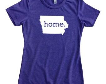 Homeland Tees Iowa Home State Women's T-Shirt