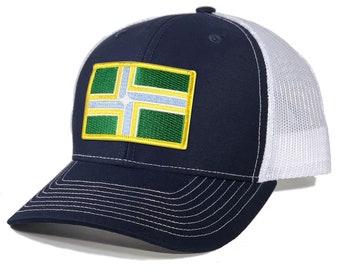 Homeland Tees Portland Flag Patch Trucker Hat