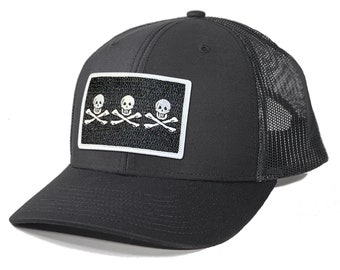 Homeland Tees Christopher Condent Pirate Flag Trucker Hat