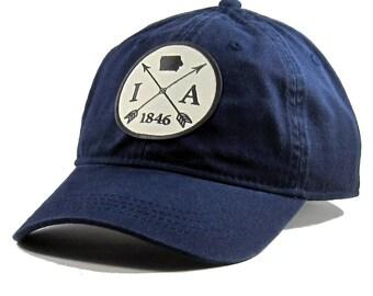 Homeland Tees Iowa Arrow Hat - Twill