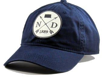 Homeland Tees North Dakota Arrow Hat - Twill