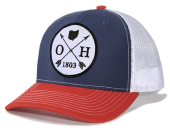 Homeland Tees Ohio Arrow Patch Trucker Hat
