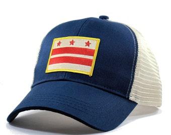 29890211 Homeland Tees Washington DC Flag Hat - Trucker