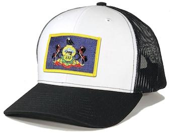 Homeland Tees Pennsylvania Flag Patch Trucker Hat