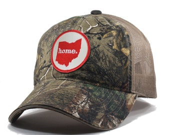 Homeland Tees Ohio Home Camo Trucker Hat - Realtree