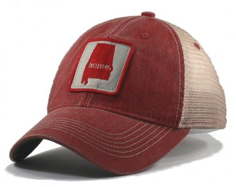 Homeland Tees Vintage Alabama Home Trucker Hat