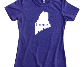 Homeland Tees Maine Home State Women's T-Shirt