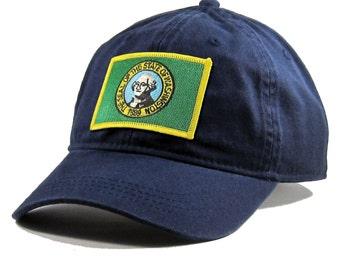 Homeland Tees Washington Flag Hat