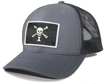 Homeland Tees Emanuel Wynn Pirate Flag Trucker Hat