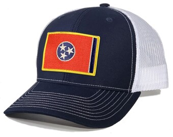 Homeland Tees Tennessee Flag Patch Trucker Hat