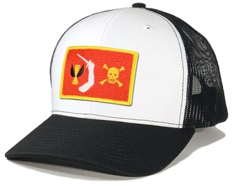 Homeland Tees Christopher Moody Pirate Flag Trucker Hat