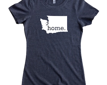 Homeland Tees Washington Home State Women's T-Shirt