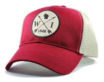 Homeland Tees Wisconsin Arrow Hat - Trucker