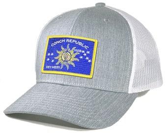 Homeland Tees Key West Flag Hat Conch Republic of Florida Flag - Trucker