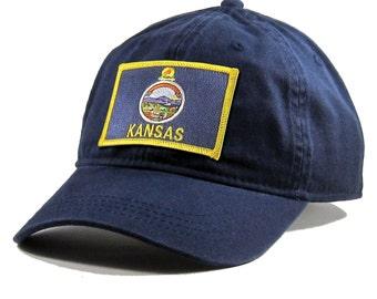 Homeland Tees Kansas Flag Hat