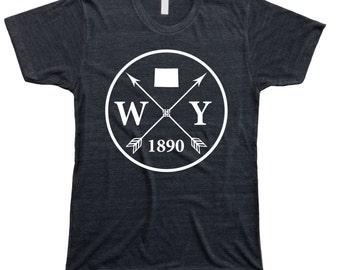 Homeland Tees Men's Wyoming Arrow T-Shirt