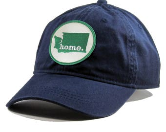 Homeland Tees Washington Home Hat - Navy Cotton Twill