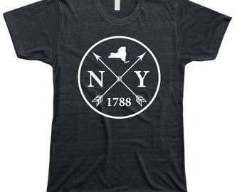 Homeland Tees Men's New York Arrow T-shirt