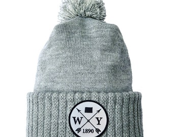 Homeland Tees Wyoming Arrow Patch Cuff Beanie