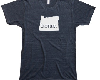 Homeland Tees Men's Oregon Home T-Shirt