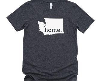 Homeland Tees Washington Home State T-Shirt - Unisex