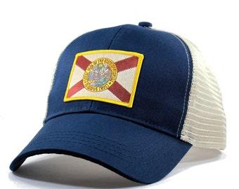 Homeland Tees Florida Flag Hat - Trucker