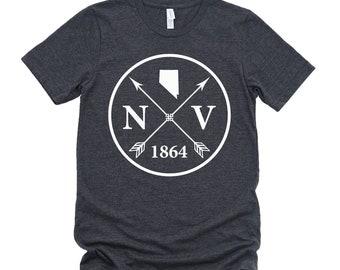 Homeland Tees Unisex Nevada Arrow T-Shirt