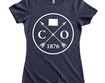 Homeland Tees Colorado Arrow T-Shirt Women's Tee