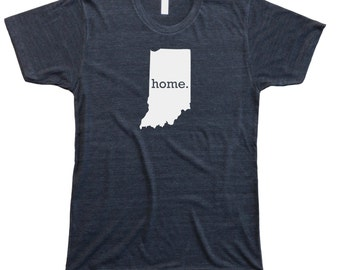Homeland Tees Men's Indiana Home T-Shirt