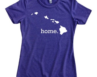 Homeland Tees Hawaii Home State Women's T-Shirt
