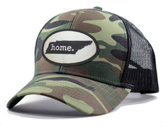 Homeland Tees Tennessee Home Army Camo Trucker Hat