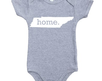 Homeland Tees Tennessee Home Unisex Baby Bodysuit