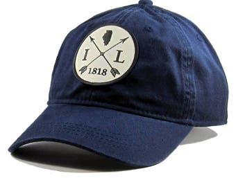 Homeland Tees Illinois Arrow Hat - Twill