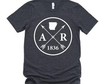 Homeland Tees Unisex Arkansas Arrow T-Shirt