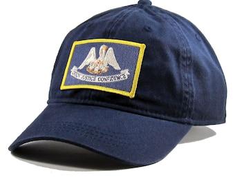 Homeland Tees Louisiana Flag Hat