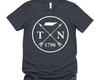 Homeland Tees Unisex Tennessee Arrow T-Shirt