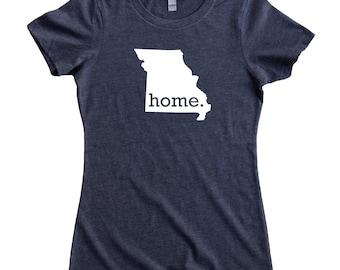 Homeland Tees Missouri Home State Women's T-Shirt