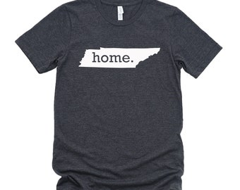 Homeland Tees Tennessee Home State T-Shirt - Unisex