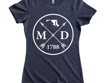 Homeland Tees Maryland Arrow Women's T-Shirt
