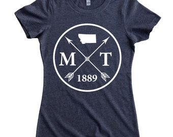 Homeland Tees Montana Arrow Women's T-Shirt