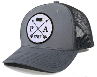 Homeland Tees Pennsylvania Arrow Patch Trucker Hat