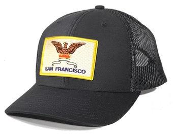 Homeland Tees San Francisco Flag Patch Trucker Hat