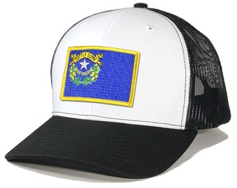 Homeland Tees Nevada Flag Patch Hat